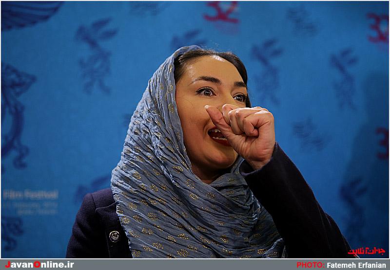 عکس های هانیه توسلی در نشست فیلم خط ویژه
