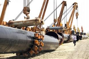 عملیات احداث خط اتیلن از میاندوآب به تبریز آغاز شد