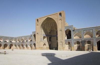مرمت و احیای مسجد 900 ساله اصفهان با کمک یونسکو