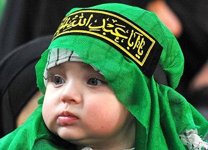 همایش شیرخوارگان حسینی در امامزاده سیدجلال الدین اشرف