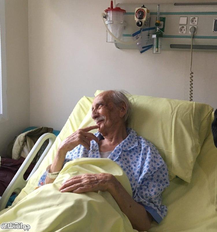 تصاویری از «داریوش اسدزاده» بر بستر بیماری