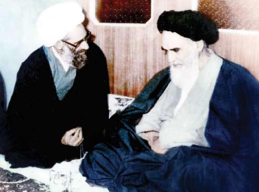 امام از تبعید بازگشته به بازدید همه علما رفتند